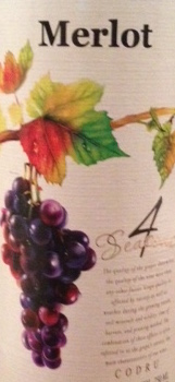 4 Seasons Merlot 2014 750ml
