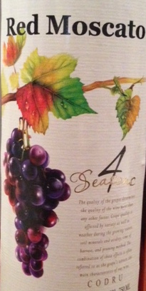 4 Seasons Red Moscato 2015 750ml