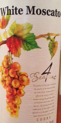 4 Seasons White Moscato 2015 750ml