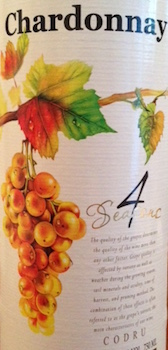 4 Seasons Chardonnay 2015 750ml