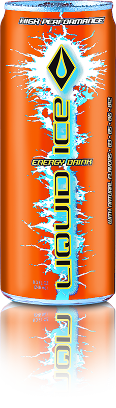 Liquid Ice Citrus Pop Orange 24/8.3oz