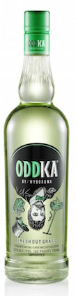 Oddka Vodka Fresh Cut Grass 750ml