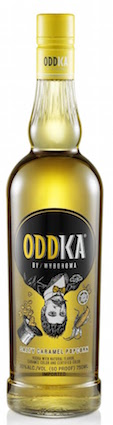 Oddka Vodka Salty Caramel Popcorn 750ml