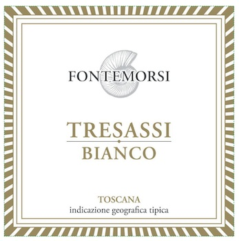 Fontemorsi Bianco Toscana Tresassi 2014 750ml